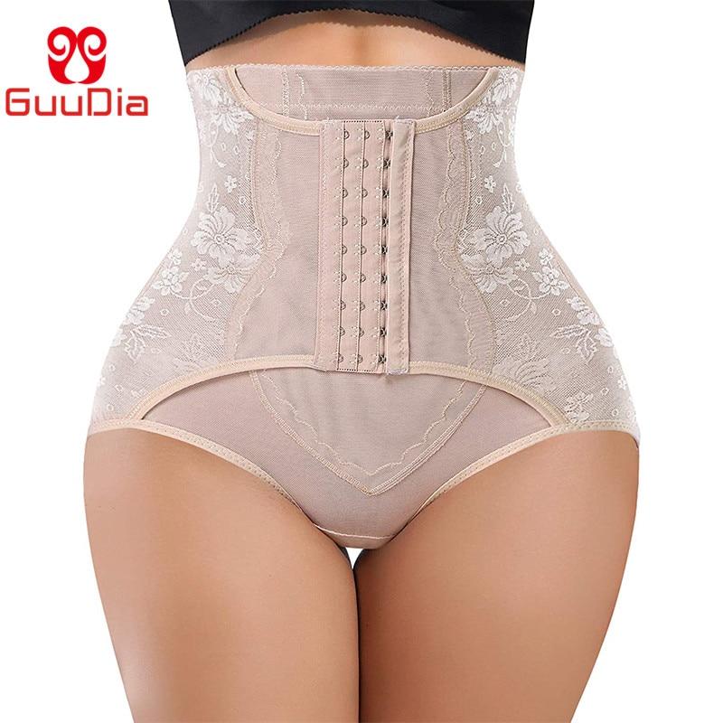 GUUDIA Tummy Control Thong Shapewear for Women Waist Cincher Slimmer High Waisted Body Shaper Panty Girdle Waist Trainer