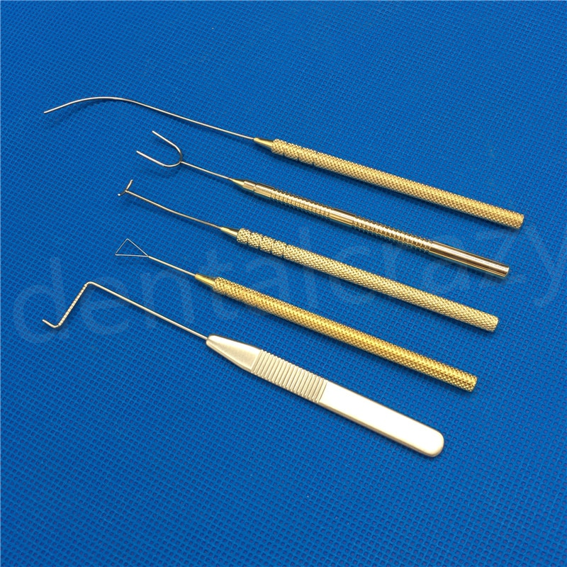 5 قطعة جفن التعمير السنانير مزدوجة الجفون جراحة الآلات