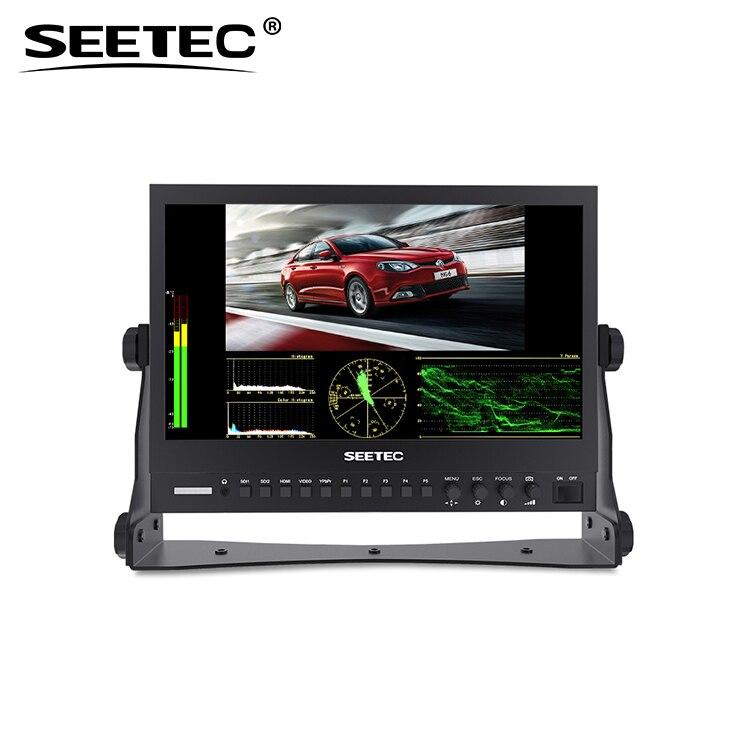 بث جودة SD HD و 3G رصد تنسيقات المدخلات متعددة 3 ألوان عرض أضواء العد
