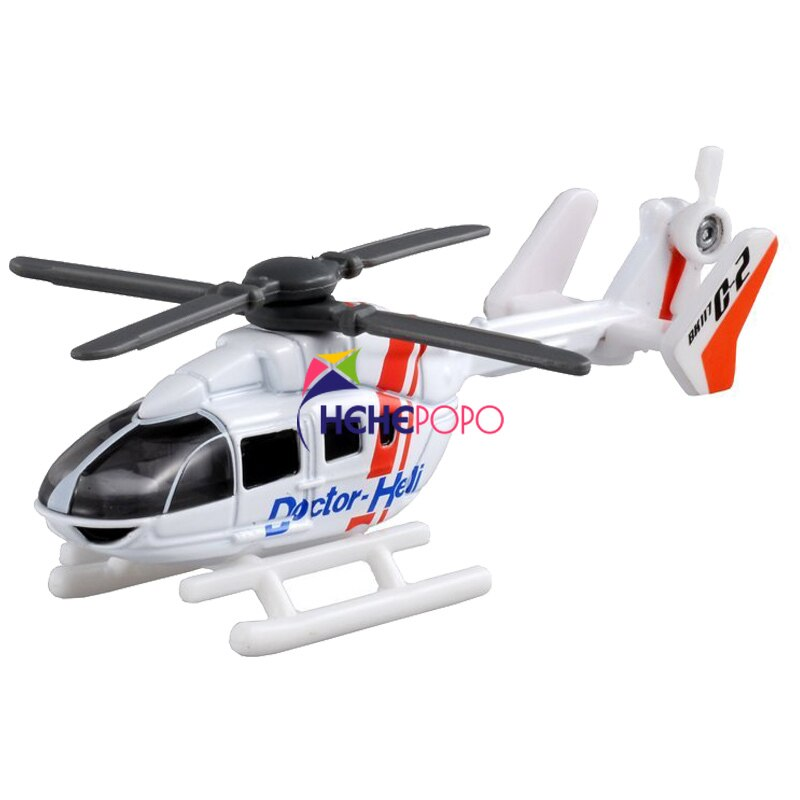 Airplane Track Sets Takara Tomica No.97 801139 Doctor Heli 1:167 Miniature Helicopter Metal Model Kit Baby Toys Gift