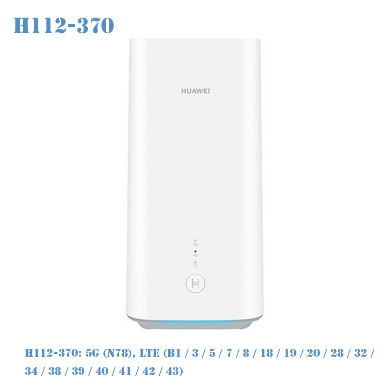 Unlocked Huawei 5G CPE Pro H112-370 5g CPE Router With Sim Card Balong 5000 Sealed Box Wireless