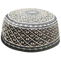 muslim prayer caps for men india brown black kippah yarmulke hats jewish kippah musulman bonnet jewish hats arabic saudi arabia