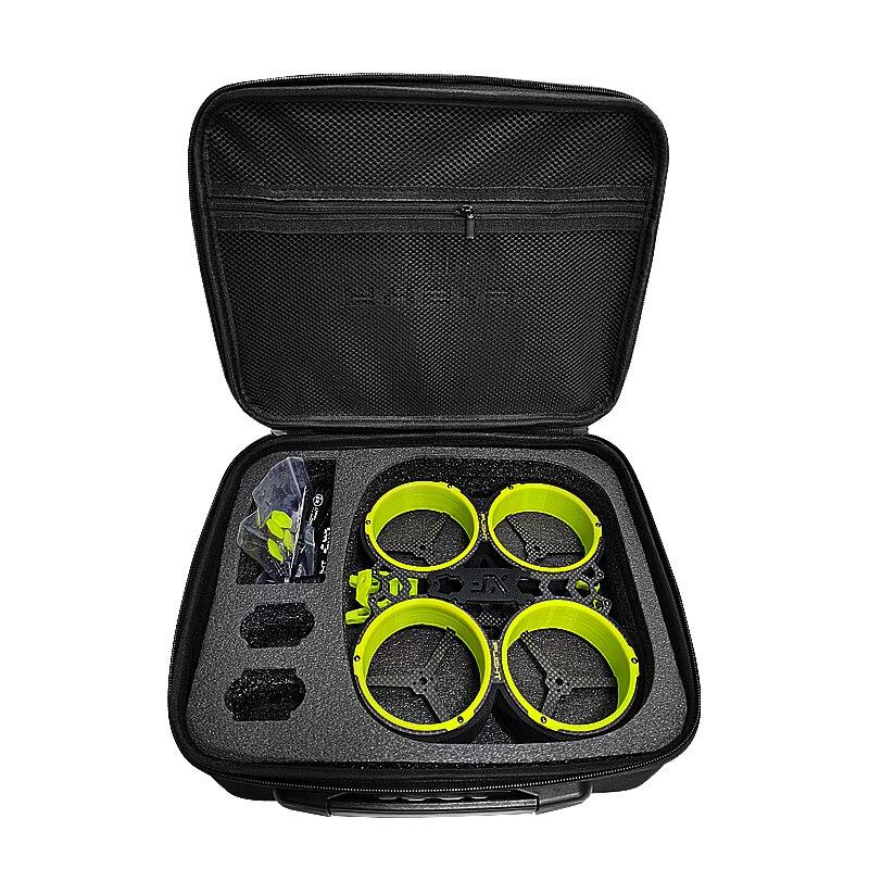 3 zoll CineWhoop Drone Carring Tasche Fall Hardshell Tasche für Diatone MX-C 349 Taycan iFlight Green Hornet Rahmen kit RC Racing Drone