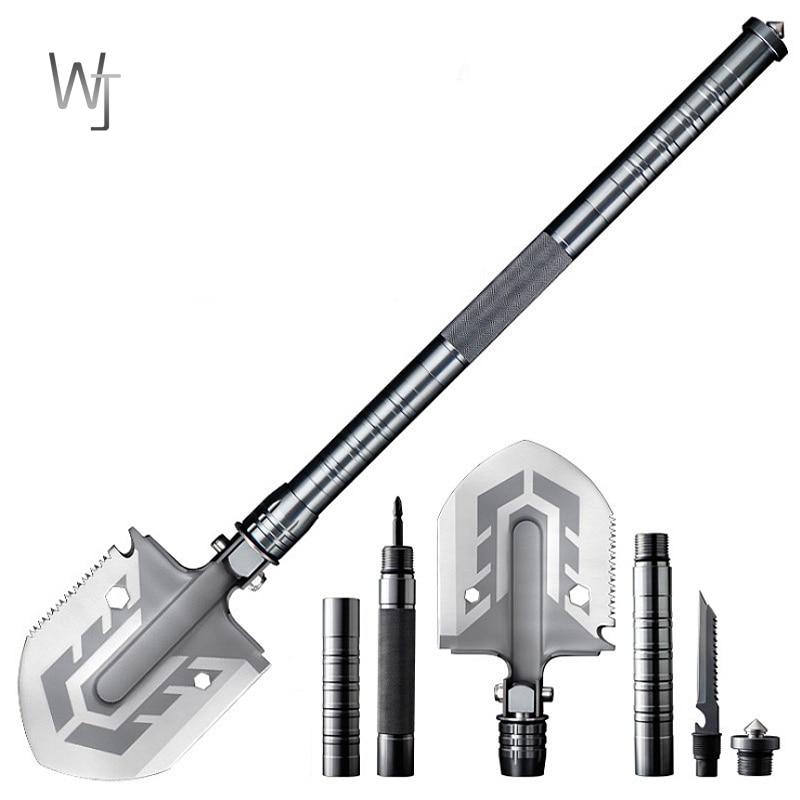 Външна многофункционална лопата, градински инструменти, сгъваема военна лопата за къмпинг