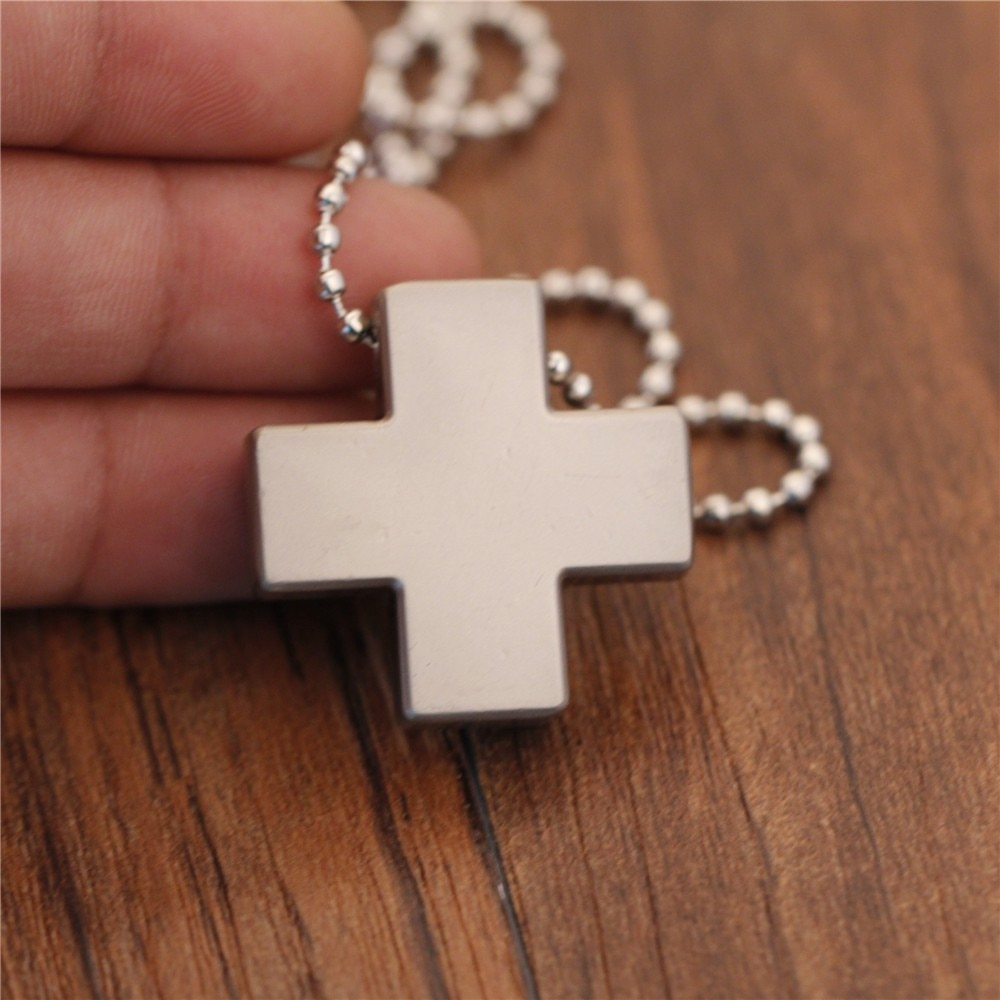 AliExpress - New Stainless Steel Necklace for Women Men Jesus Crystal Cross Pendant Necklaces Gold Silver Cross Fashion Jewelry Dropshipping