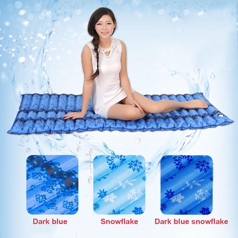 الصيف المياه مليئة فراش التبريد Waterbed واحد مزدوج وسادة طالب عنبر الجليد وسادة فراش وسادة أريكة