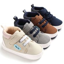 Toddler Boy Shoes Newborn Antiskid Casual Boy Shoes Baby Shoes Soft Sole Infant Baby First Walkers