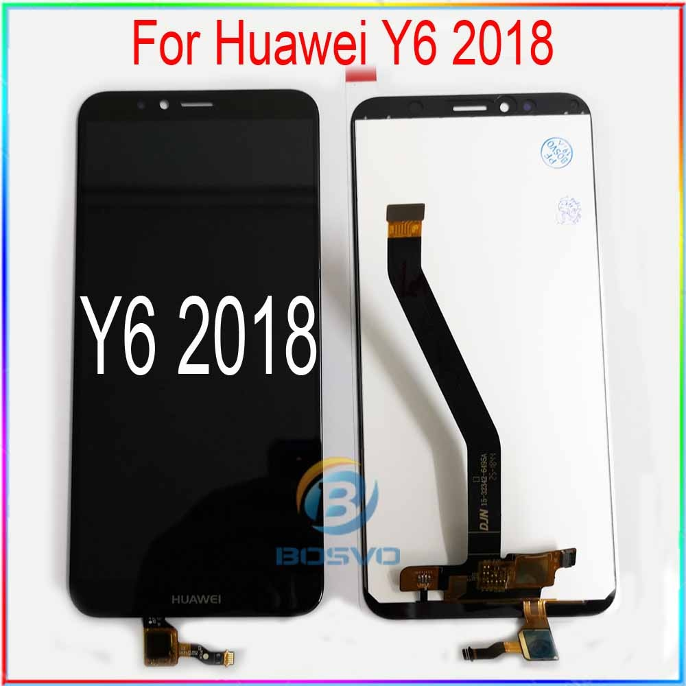 Für Huawei Y6 2018 LCD screen display Y6 Prime 2018 ATU L11 L21 L22 LX1 LX3 L31 L42 mit touch montage Ersatz reparatur teile