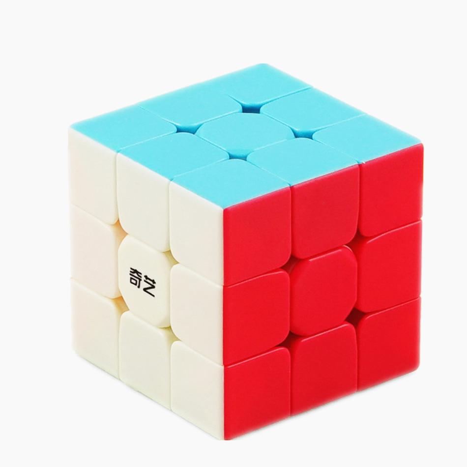 Rompecabezas Qiyi cube warrior W 3x3, cubo mágico de velocidad, cubo 3x3, cubo mágico, juguetes educativos para niños, juguetes para niños neo cubo magico