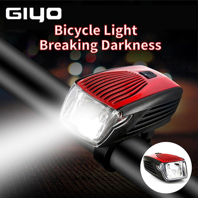 GYIO-مصباح أمامي للدراجة IPX5 مقاوم للماء ، قابل لإعادة الشحن ، فلاش LED ، مصباح تحذير ، ضوء خلفي للدراجة
