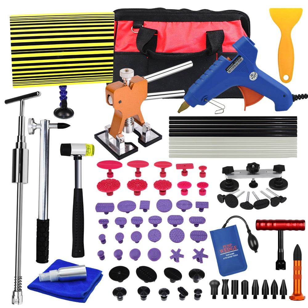 Car Remove Dent Paintless Dent Repair Tool Car Dent Remover Reverse Hammer Straightening Pulling Dents Instruments