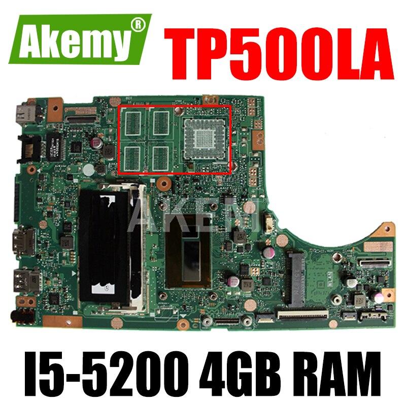 SAMXINNO لشركة آسوس TP500LAB Laotop اللوحة الرئيسية TP500L TP500LA TP500LN TP500LAB اللوحة الأم مع 4G RAM I5-5200 وحدة المعالجة المركزية