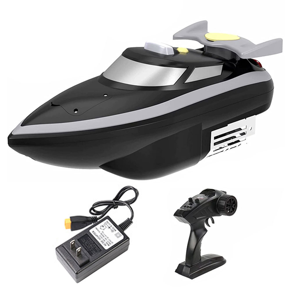 7. 4V 7800Mah Fixed Speed Cruise Remote Control Fishing Finder Boat 1.5KG 500M Dual Night Light Lure Fishing Smart RC Bait Boat