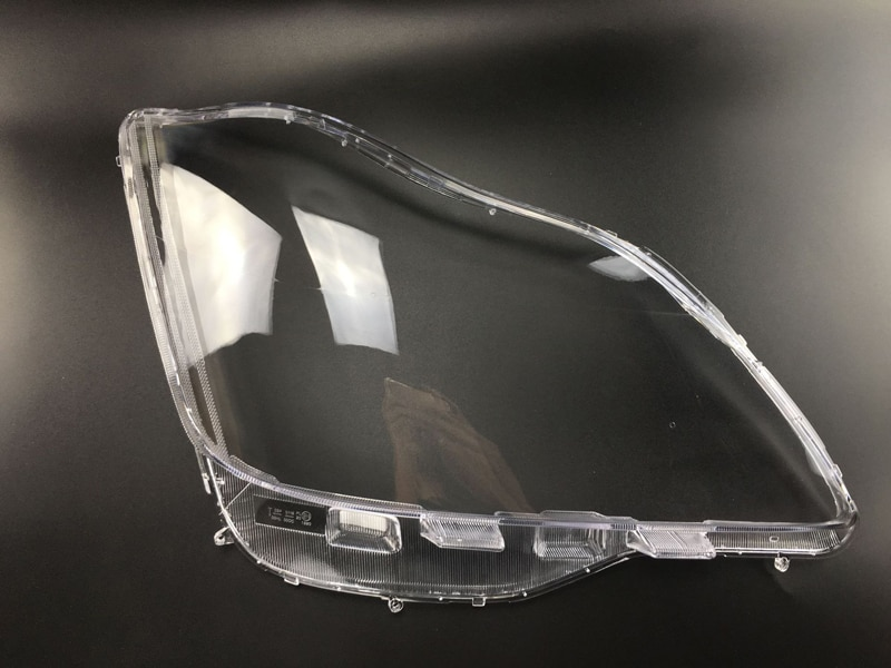 Plexiglass Head Light Lampshade Lamp Shell Case Transparent Lens Front Headlight Cover Replacement For Toyota Crown 2005-2009