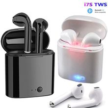 i7s TWS Wireless Bluetooth Earphone In Ear Stereo Air Earbuds Sports Gaming Headset For Apple iPhone