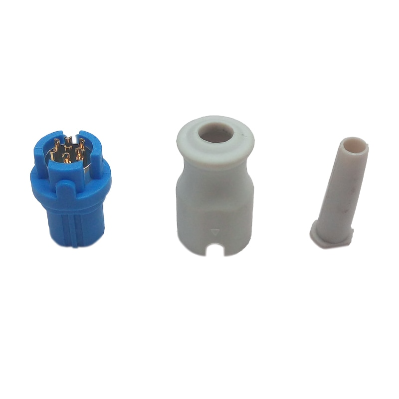 7 Pin SpO2 Connector Assembled Used for Siemens Drager Patient Monitor Blood Oxygen SpO2 Sensor