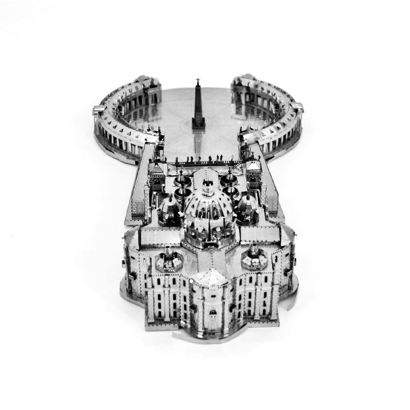 Rompecabezas 3D de metal para niños y adultos, mini rompecabezas 3D de...