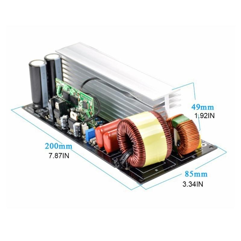 محوّل عاكس محمول في الجيب لوحات الطاقة تردد لوحة محول التردد والحرارة بالوعة ما بعد المرحلة لوحات تصحيح موجة جيبية نقية 3000 واط