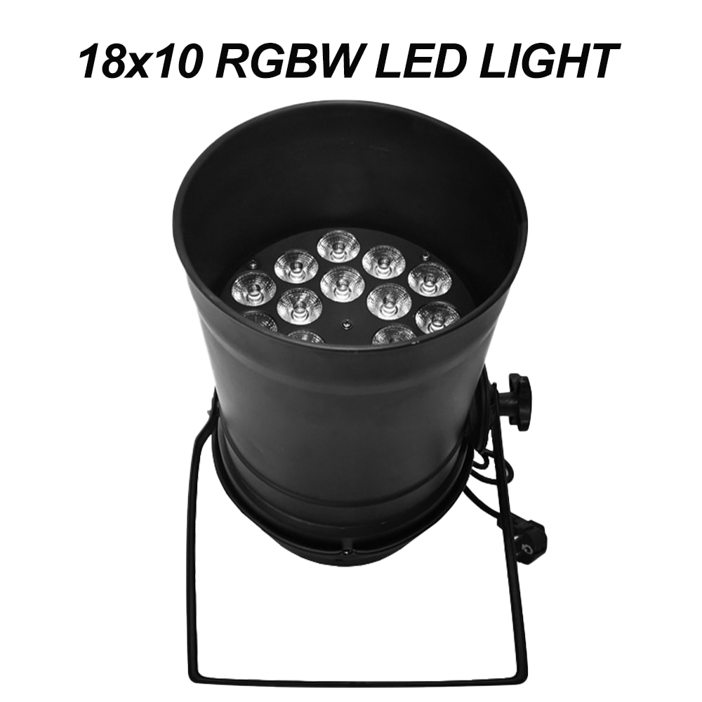 18x10 RGBW 4IN1 LED LIGHT DMX512 Control DJ Disco Club Party Holiday Dance Stage Park Landscape Atmosphere