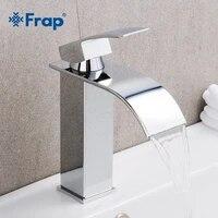 Frap     robinet de lavabo a poignee unique  cascade melangeur de salle de bains  robinet devier deau chaude et froide Y10148