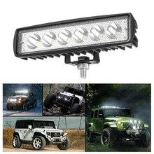 Lumière de travail pour camion ATV 4x4 12V   Barre de travail hors route, faisceau de lumières led, accessoires de voiture pour camion ATV 4x4 12V 1 pièce