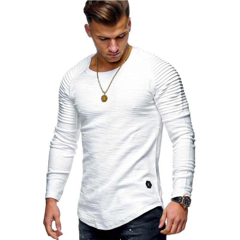 Camiseta táctica del ejército militar de alta calidad, Camiseta Casual de algodón con cuello redondo y manga larga de otoño 2020 para hombre, Camiseta de talla grande 3XL