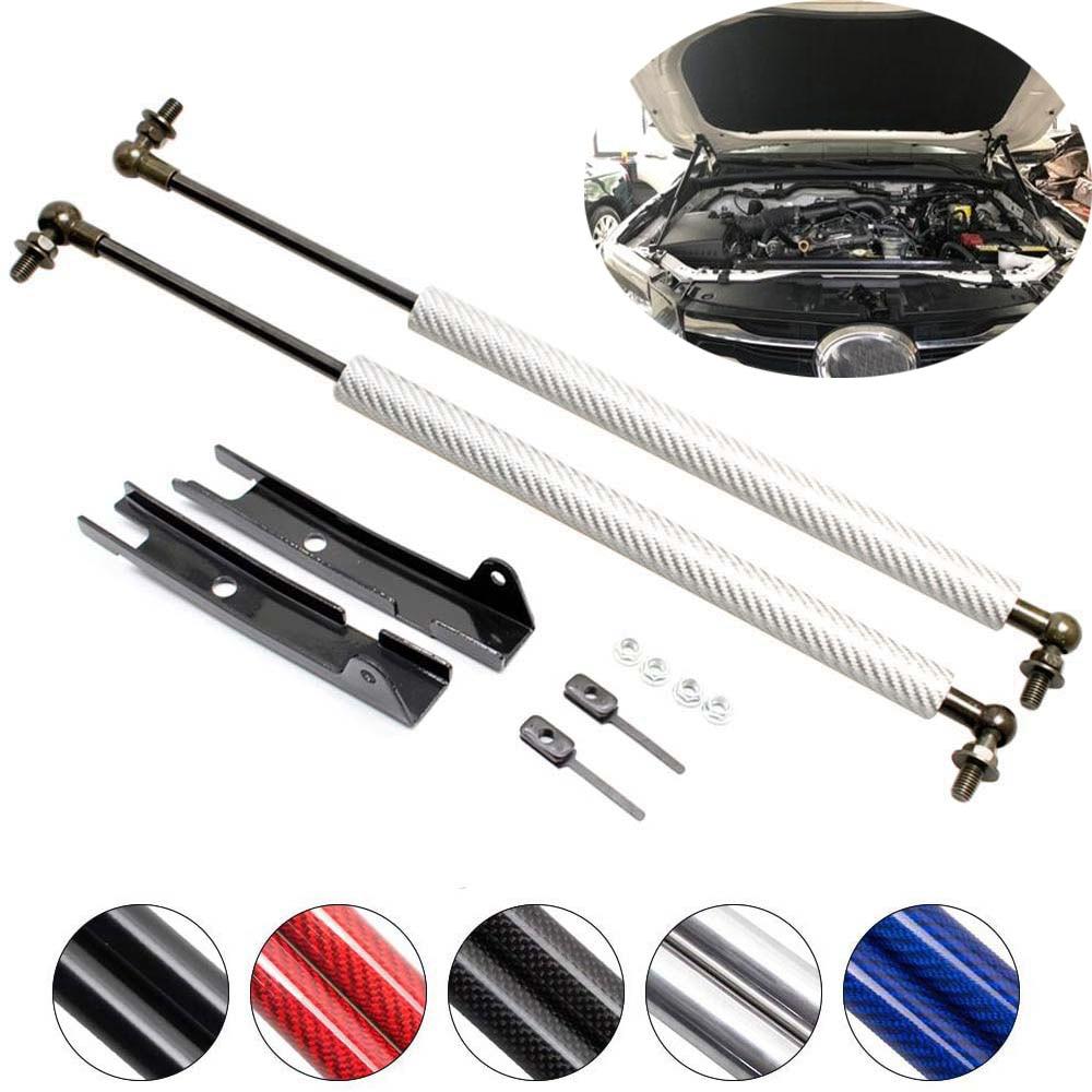 For Toyota Fortuner SW4 AN150 AN160 SUV 5-door 2015-2020 Font Bonnet Hood Modify Gas Struts Lift Support Shock Damper Absorber