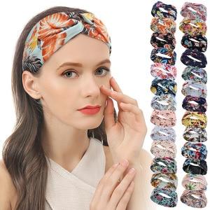 Hot Sale Sports Hairband For Women Yoga Fitness Absorption Sweat Elastic Headband Female Hair Fabric Accessories Diadema De Muje