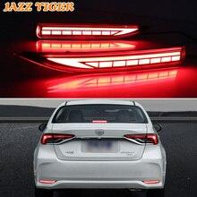 For Toyota Corolla Altis 2019 2020 Multi-function Car LED Rear Fog Lamp Bumper Light Brake Light Dynamic Turn Signal Reflector