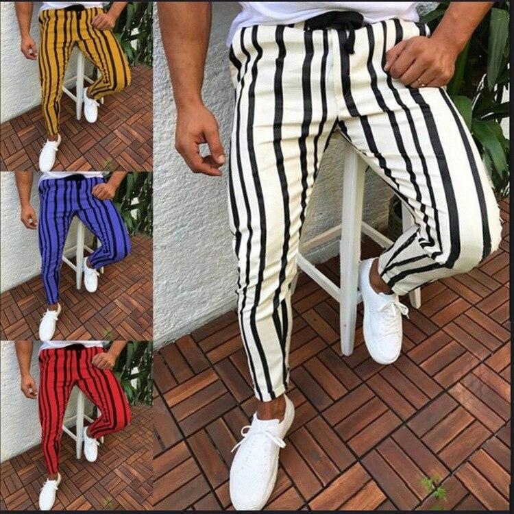 Pantalones deportivos para correr para hombre, pantalones de entrenamiento deportivo de fútbol de colores sólidos, pantalones elásticos para correr y Culturismo