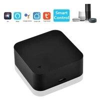 Mini telecommande intelligente Tuya WiFi IR  domotique  Compatible avec Alexa  Google Assistant Smart Life  TuyaSmart