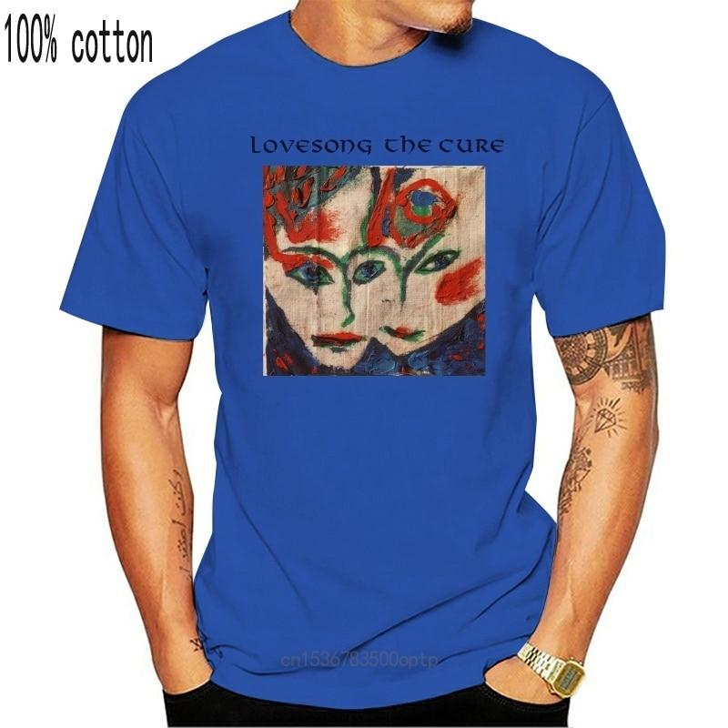 New VINTAGE 80s The Cure The Paryer Tour Gothic Rock Post Punk Size S-2XL Reprint 2021est 2021 Men T-Shirt Fashion top tee