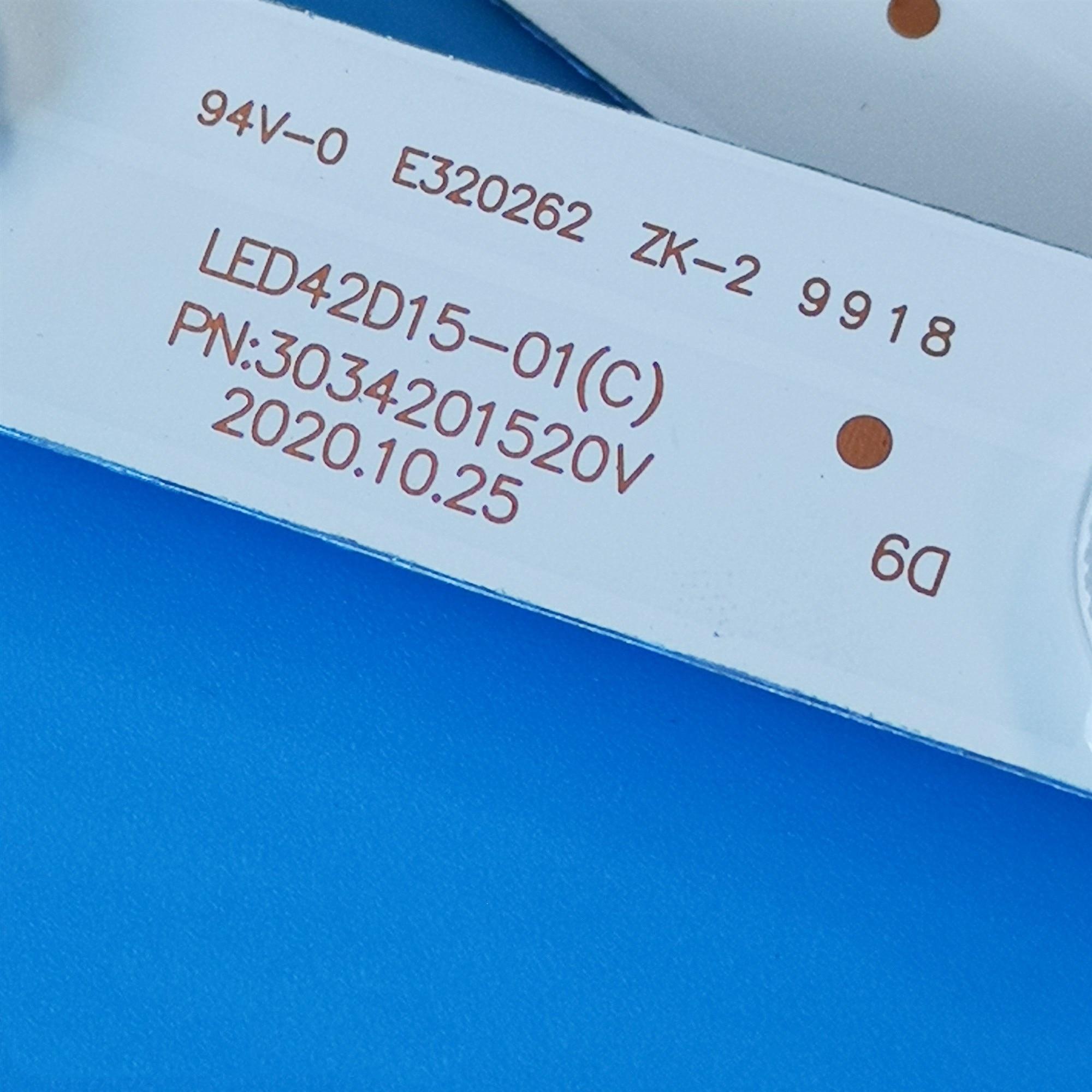 40pcs LED Backlight strip  LED42D15-01(C) 01(A) For LS42K5500 LE42B510F LS42H6000 42CE3210D LE42B8000TF LT-42UE76 LE42K50F enlarge