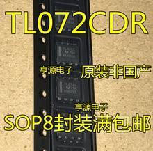 100% Original Neue auf lager 5 teile/los TL072CDR TL072C SOP-8 TL072IDR
