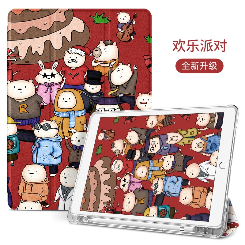 iPad Cover for 2020 iPad Air 4 2018 iPad Pro 11'' 10.5'' 10.2'' Inch Magnetic Auto Case with Pencil Holder Shockproof iPad Cover enlarge