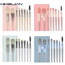 8pcs Makeup Brushes Set for Eyeshadow Eyeliner Blush Foundation Powder Eyebrow Eyelash Professional