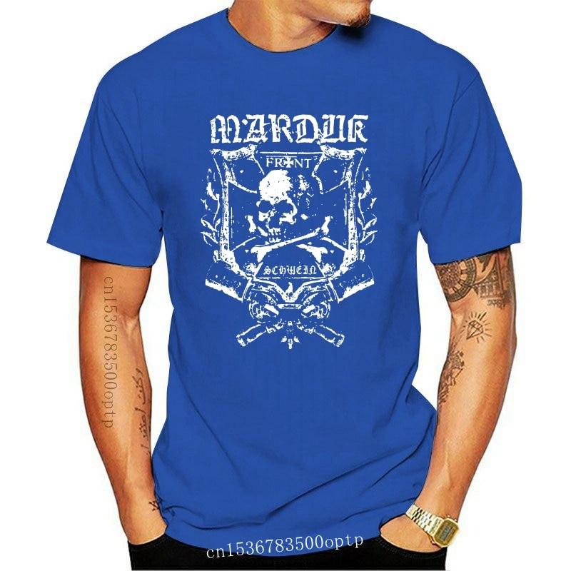 Camiseta auténtica MARDUK Frontschwein Shield, S-2XL, nueva