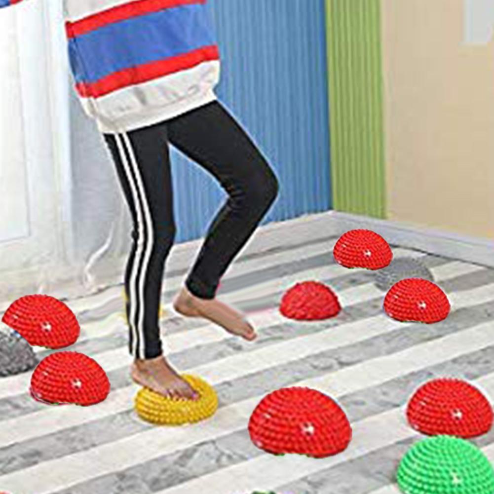 Semelle de Massage pour les enfants   Anti-Stress, hémisphère, jouet pour le Sport et la gymnastique