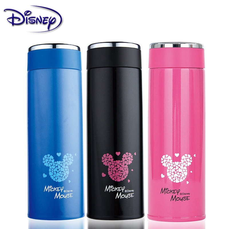 Disney Simple Minnie Mickey Minnie Cup 304 Austenitic Stainless Steel Lightweight Vacuum Stainless Steel Cup 430ML