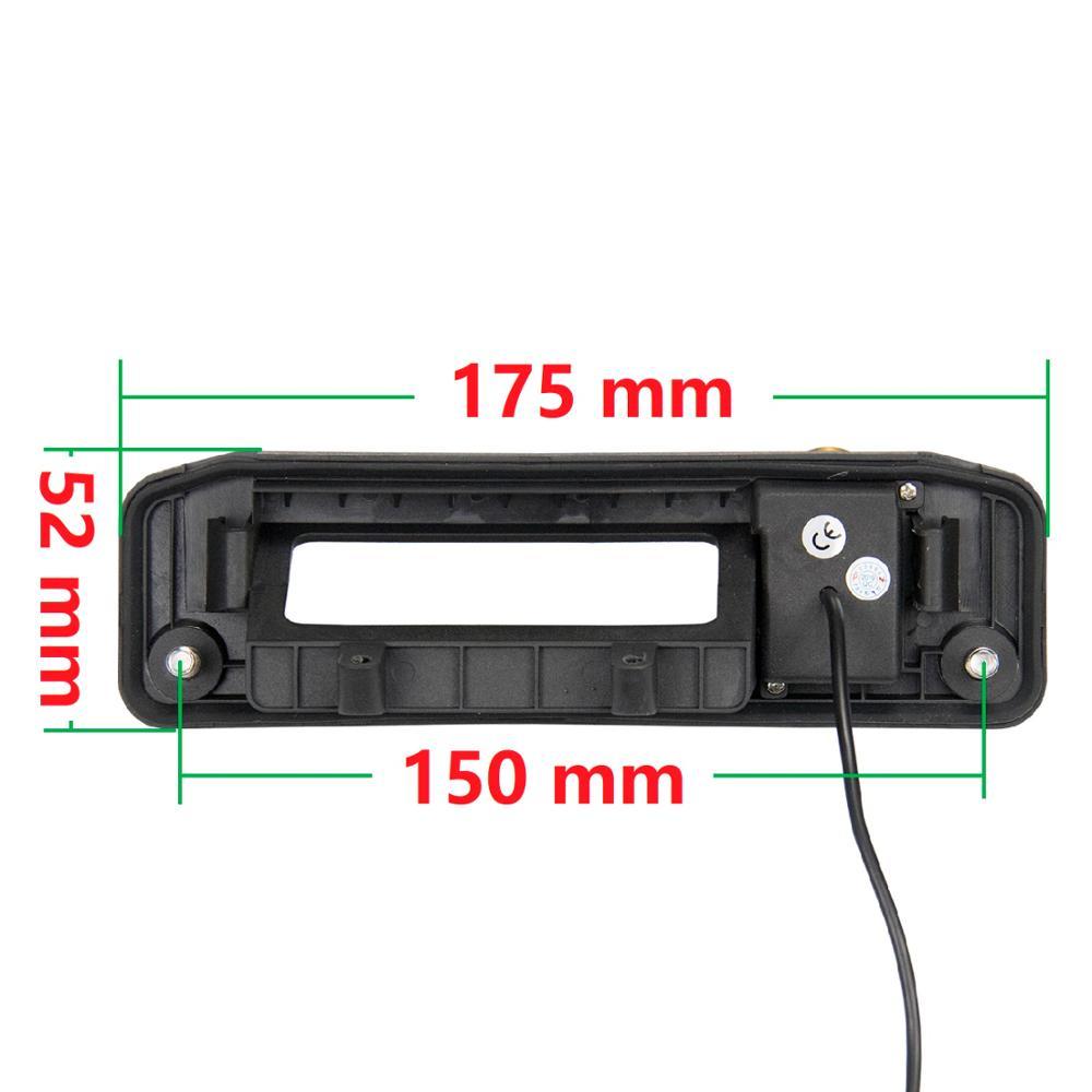 Misayaee Golden HD 1280x720P Car Rear View Camera for Mercedes W176 X166 W166 X156 X253 Vito W447 A-Class CLA GLA GLC GLE GLS
