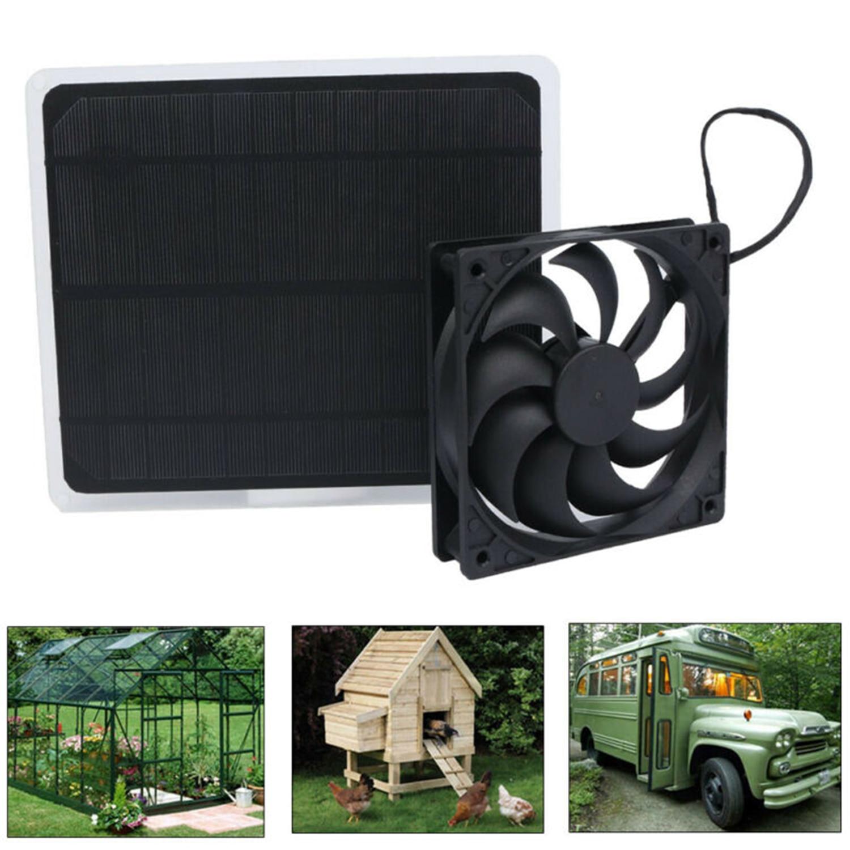Ventilador de ferro alimentado solar 10w 12v, ventilador de ferro para escritório em casa, viagens, pescaria, ventilação de resfriamento com ventilador usb células solares,