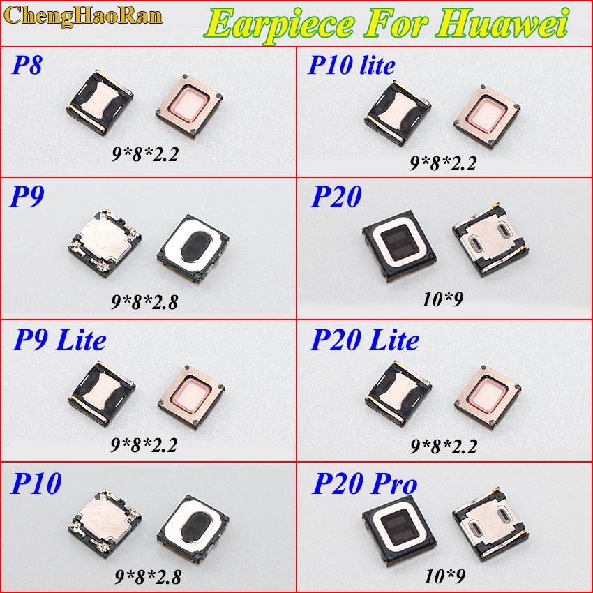 ChengHaoRan 2PCS Fone Speaker Flex Cable Para Huawei P8 P9 P10 P20 pro Lite p20 Ear Speaker Receptor de Som peças de reposição