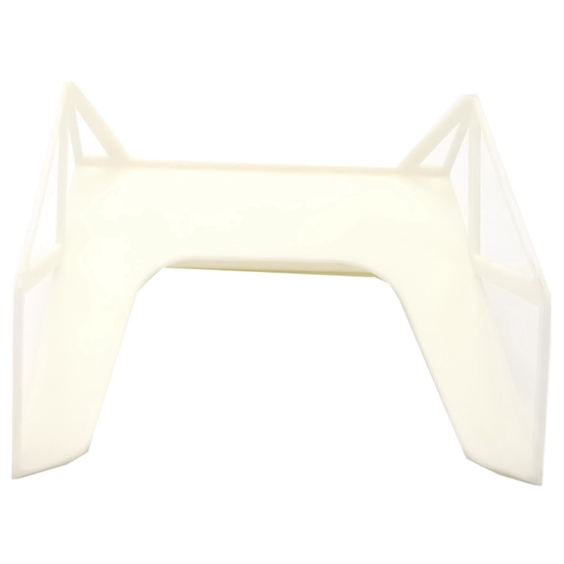 Tail Wing Body Spoiler Decoration for WPL D12 1/10 RC Car Upgrade Parts Accessories enlarge