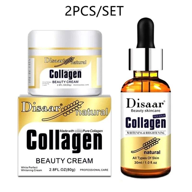 Collagen Cream Best Moisturizer Hyluronic Face Lift Whitening Cream Skin Care Moisturizing Anti-Aging Anti Wrinkle Facial Serum