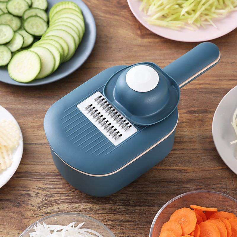 Многофункциональная шинковка для картофеля, моркови, огурца, мандолина, резак, терка, измельчители с фильтром/кухонные инструменты для фрук...