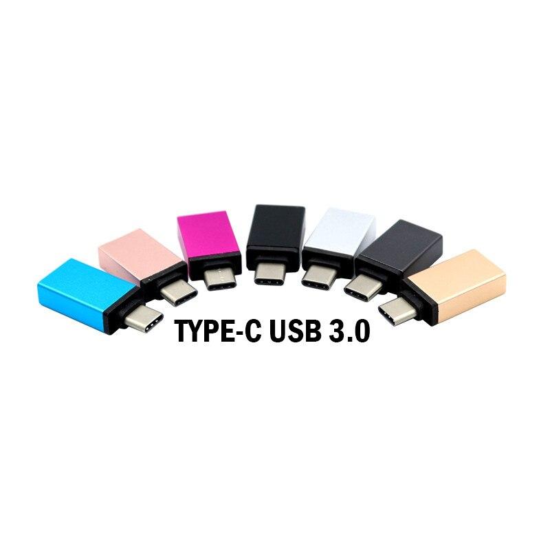 Adaptador de Cable USB 3,0 tipo C OTG, convertidor de USB-C OTG...