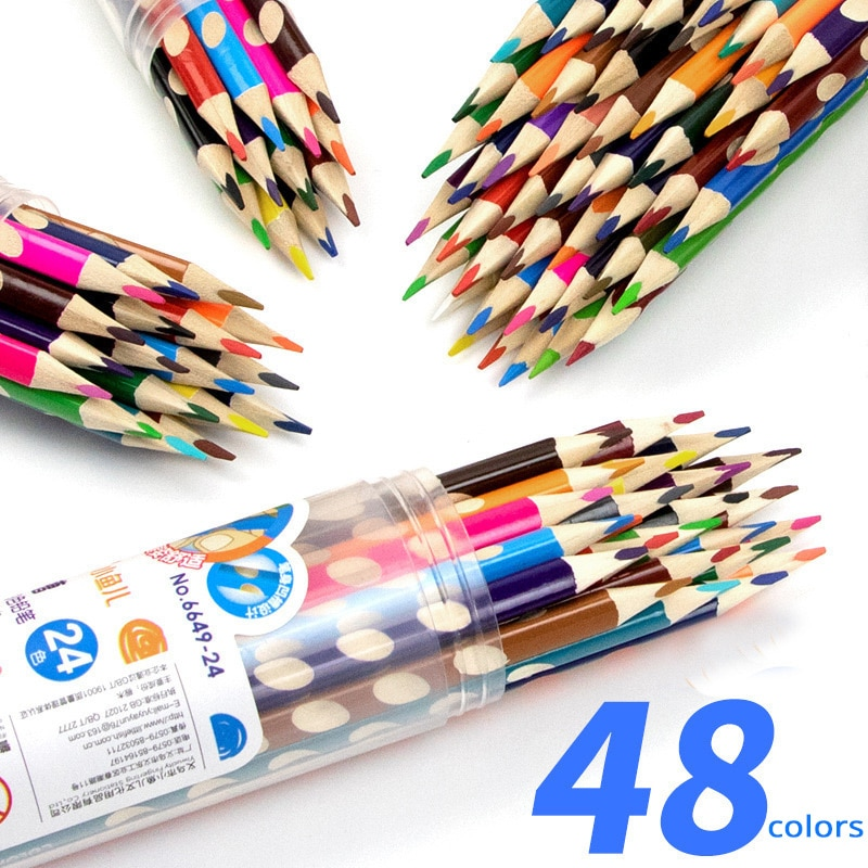 Фото - Grooved Colored Pencils Pencils Triangular Wood Pencil Set For Writing and Drawing School&Office Stationery Art Supplies Student stabilo wooden colored pencils 2606803 colored pencil for boys and girls children sets