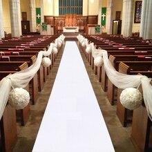 Tapis tapis pour fêtes de mariage 5M 10M   Tapis allée, tissu non tissé rouge et blanc, épaisseur 0.8mm pour mariages plage en extérieur