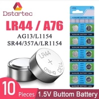 2020 new 10pcs 30mah 1 55v ag13 lr44 l1154 rw82 sr1154 sp76 pila sr44 button batteries for watch toys remote cell coin battery