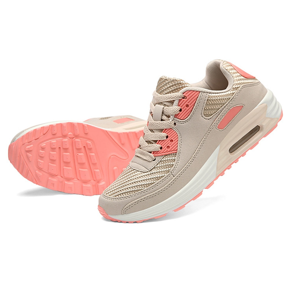 33-44 Women Sneakers Casual Breathable Sport Shoes Lace Up Women Platform Sneakers Outdoor Walking L